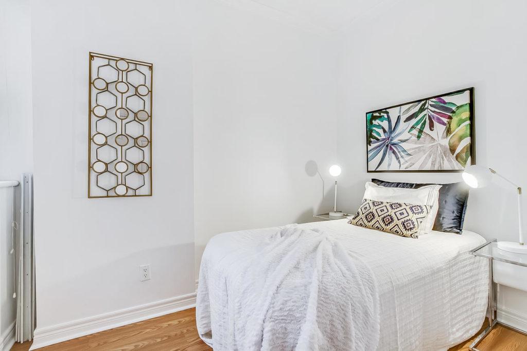 Second Bedroom, 55 Bloor, Toronto Condo Staging