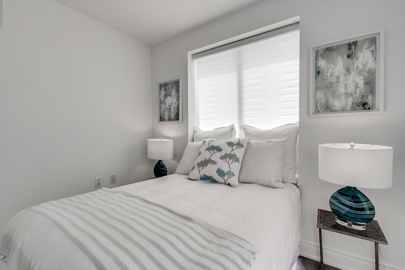 Second Bedroom Window, 20 Olive Ave, Toronto Condo Staging