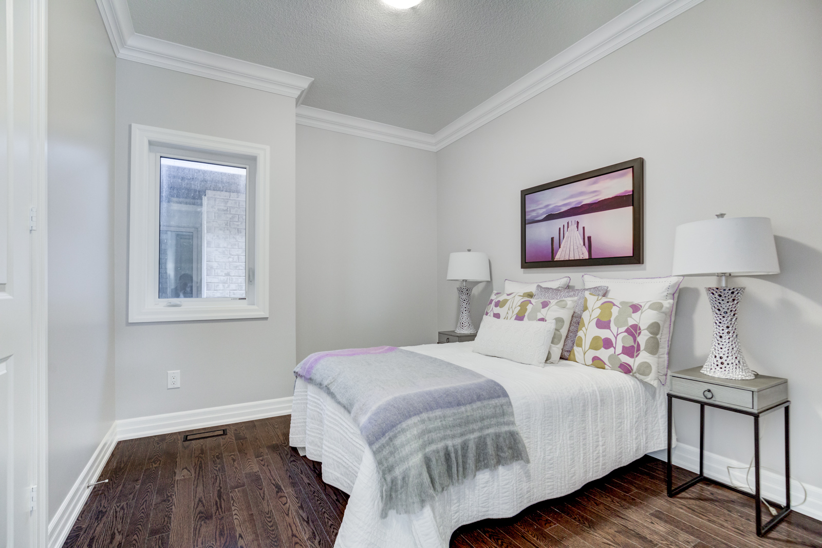 Third Bedroom, 3910 Lodi, Burlington Home Staging