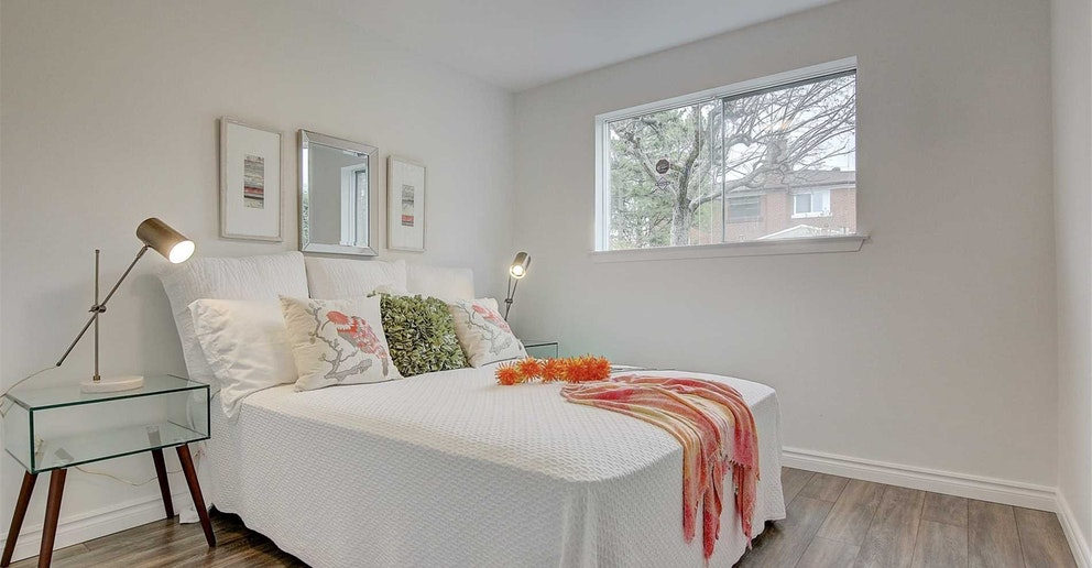 Third Bedroom, 4 Lotus, North York Home Staging
