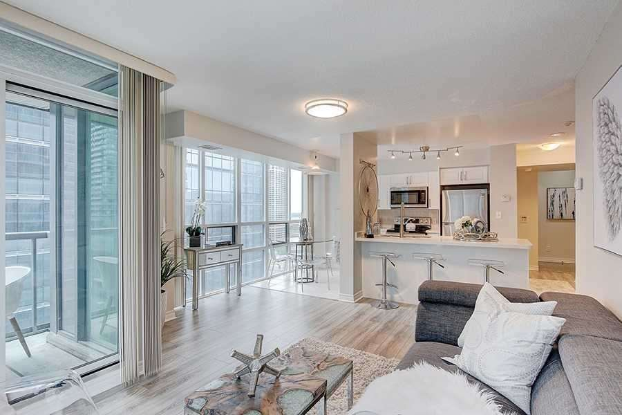 Main Area, 30 Grand Trunk, Toronto Condo Staging