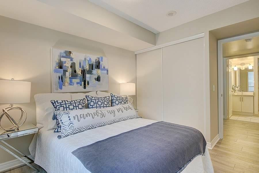 Master Bedroom, 30 Grand Trunk, Toronto Condo Staging