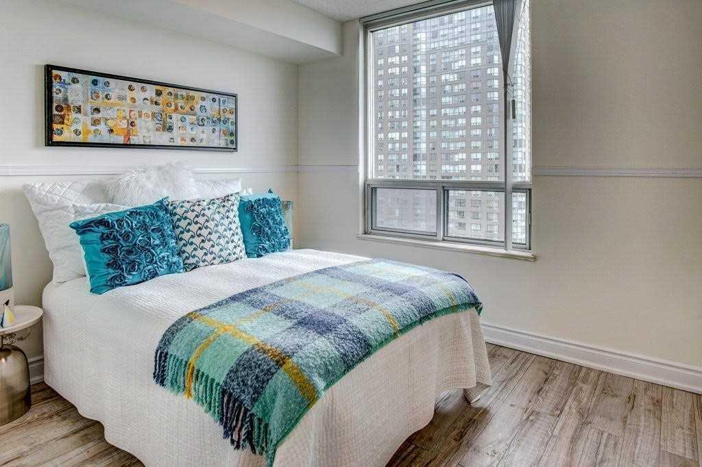 Bedroom, 68 Corporate, Toronto Condo Staging