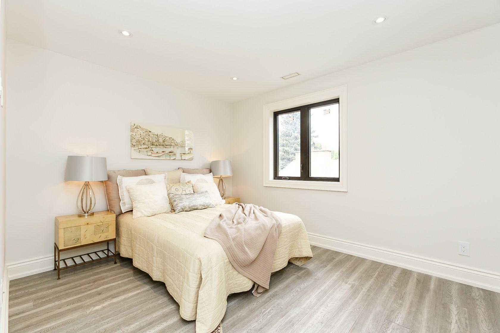 Third Bedroom Window, 49 Rossburn, Etobicoke Home Staging