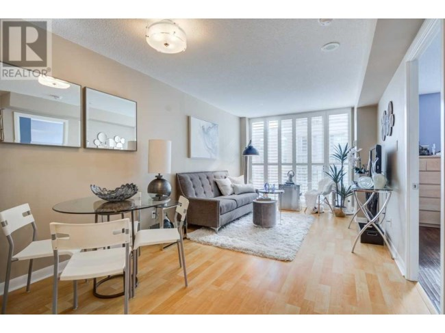 Dining and Living Rooms, 313 Richmond, Toronto Condo Staging