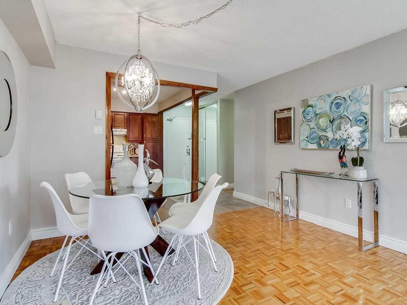 Dining Room, Bar, Kitchen, 3380 Eglinton, Scarborough Condo Staging