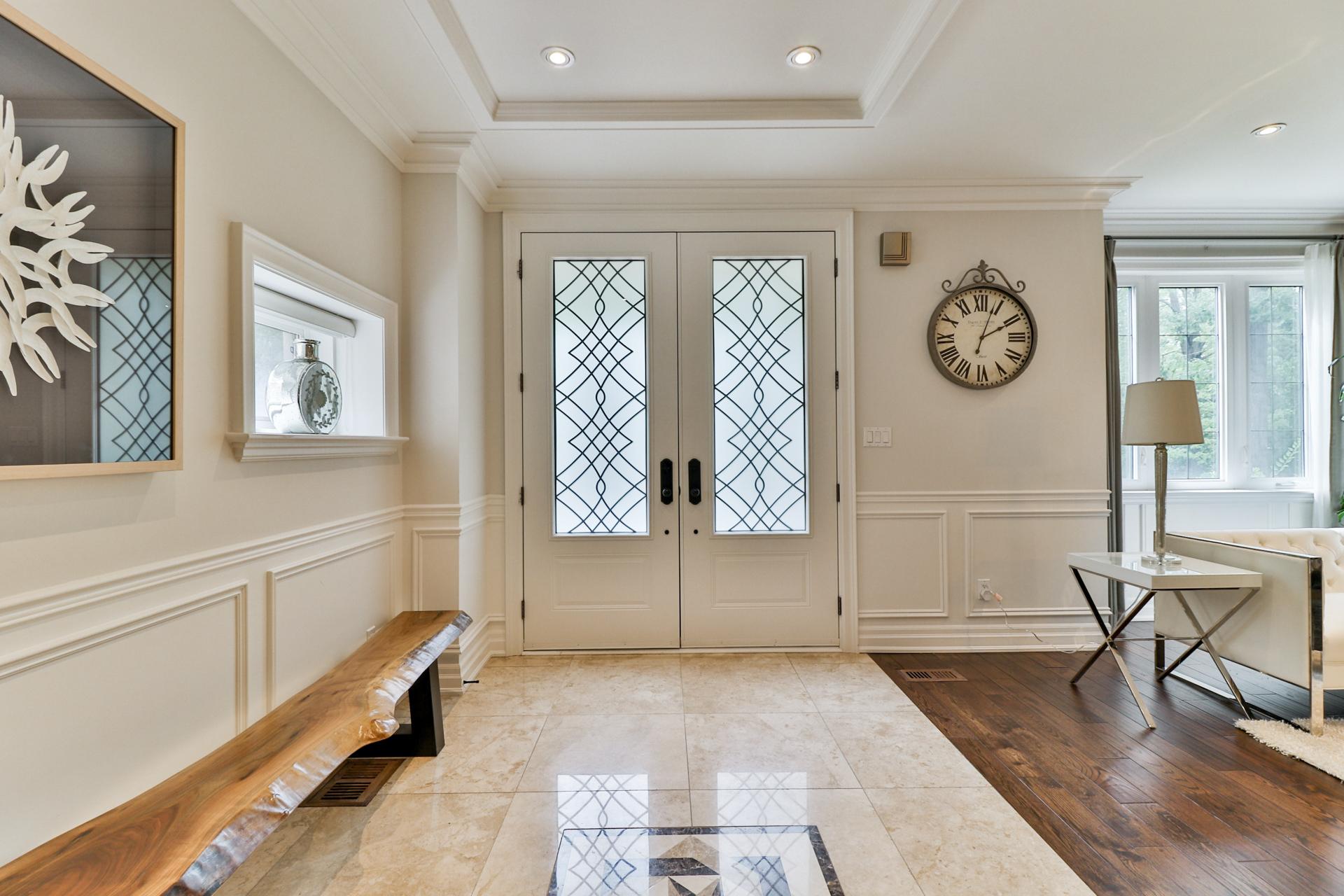 Foyer, 149 Shaver, Etobicoke Home Staging