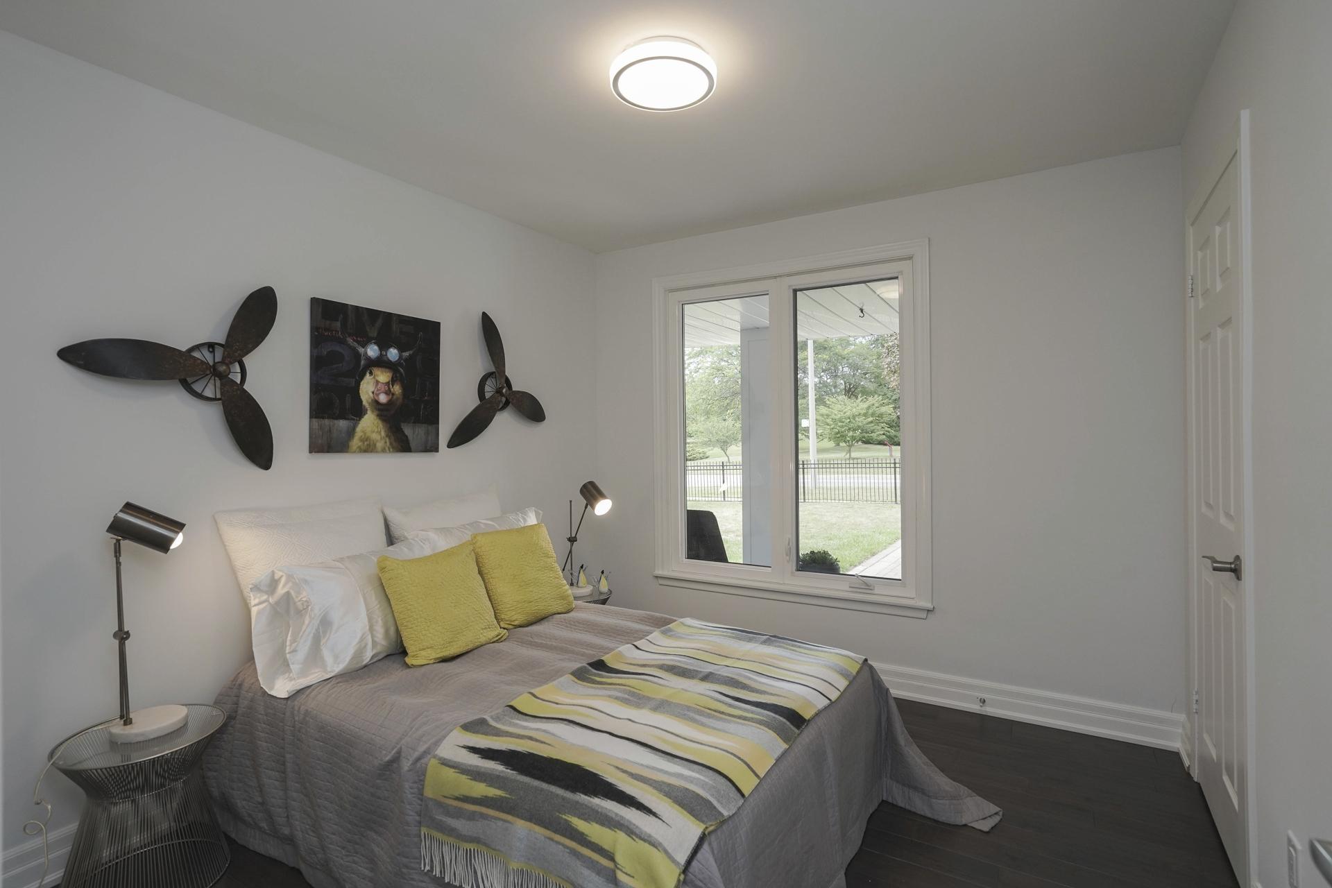Guest Bedroom, 571 Rathburn, Etobicoke Home Staging