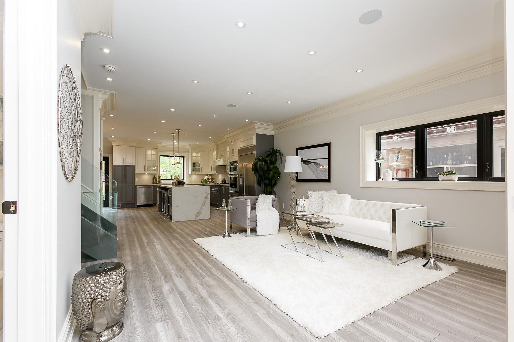 Main Floor, 49 Rossburn, Etobicoke Home Staging