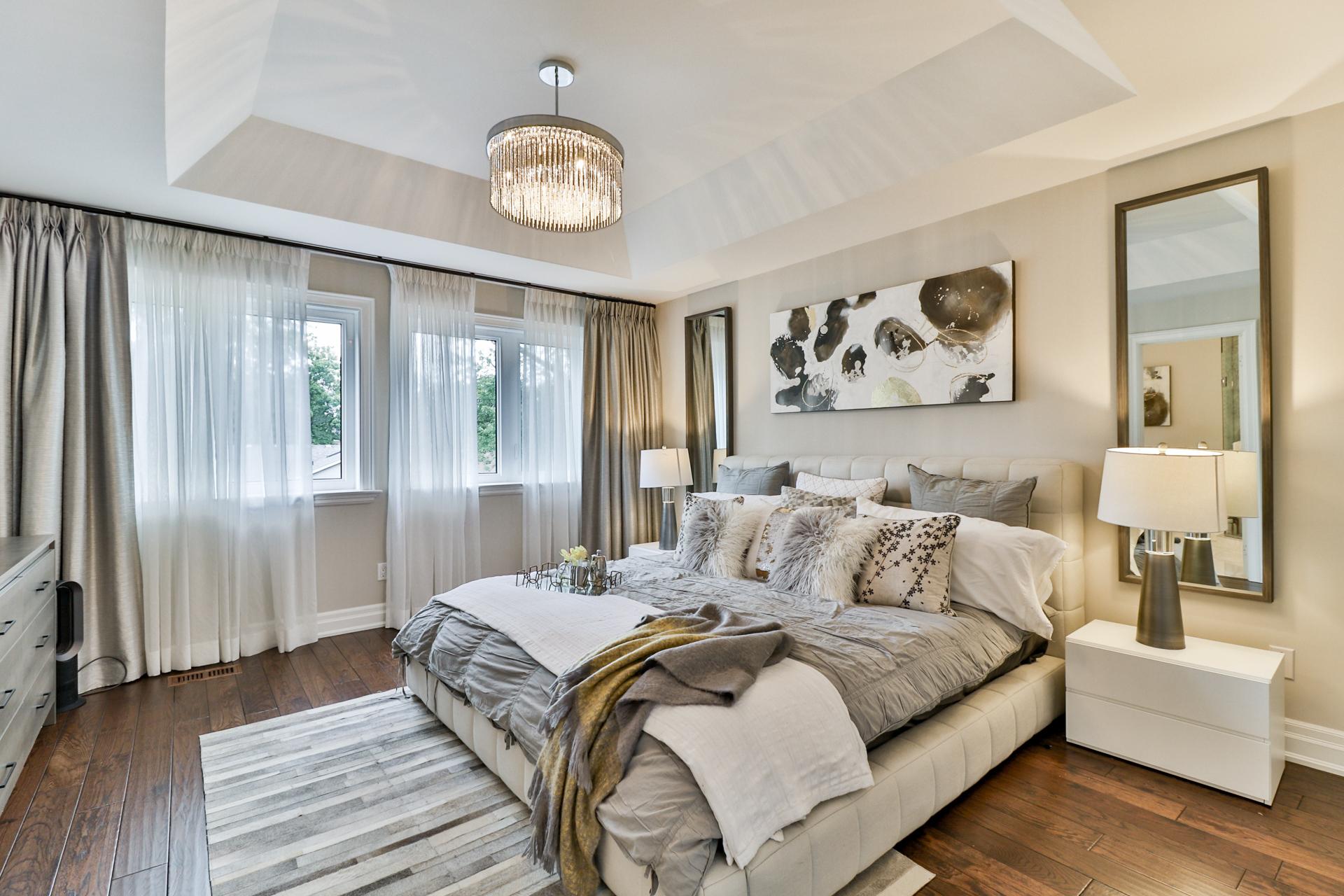 Master Bedroom, 149 Shaver, Etobicoke Home Staging