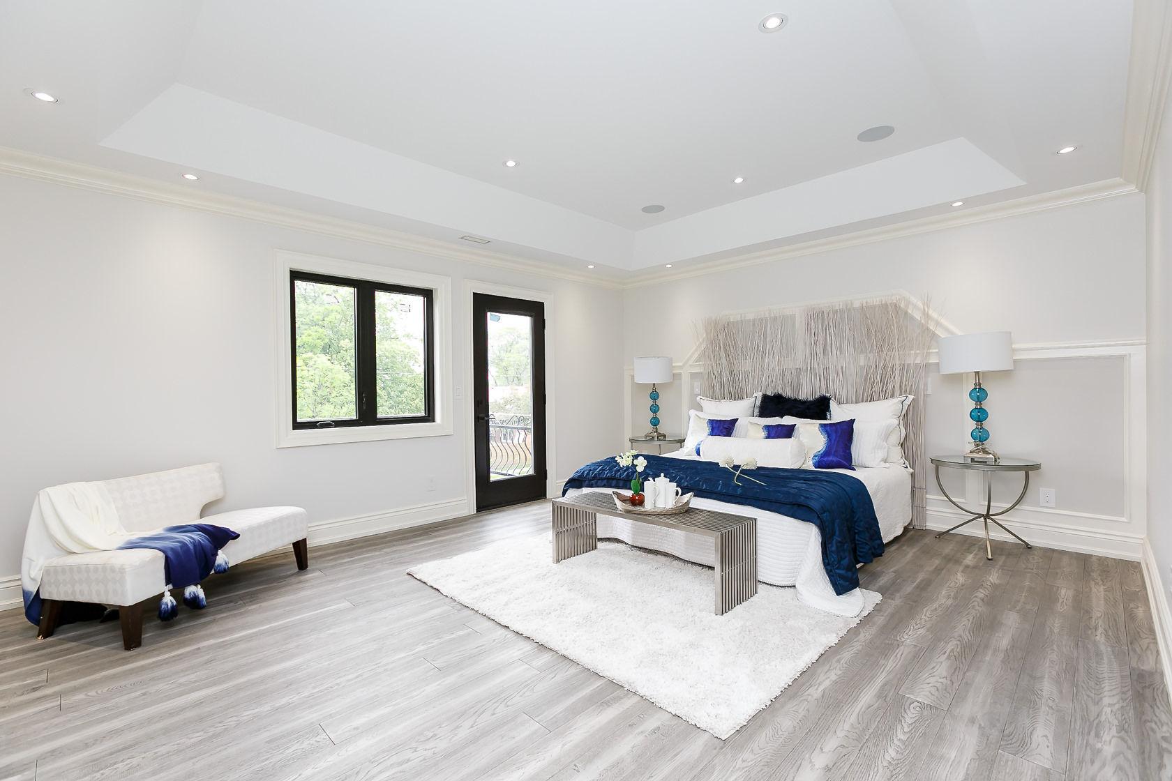 Master Bedroom, 49 Rossburn, Etobicoke Home Staging