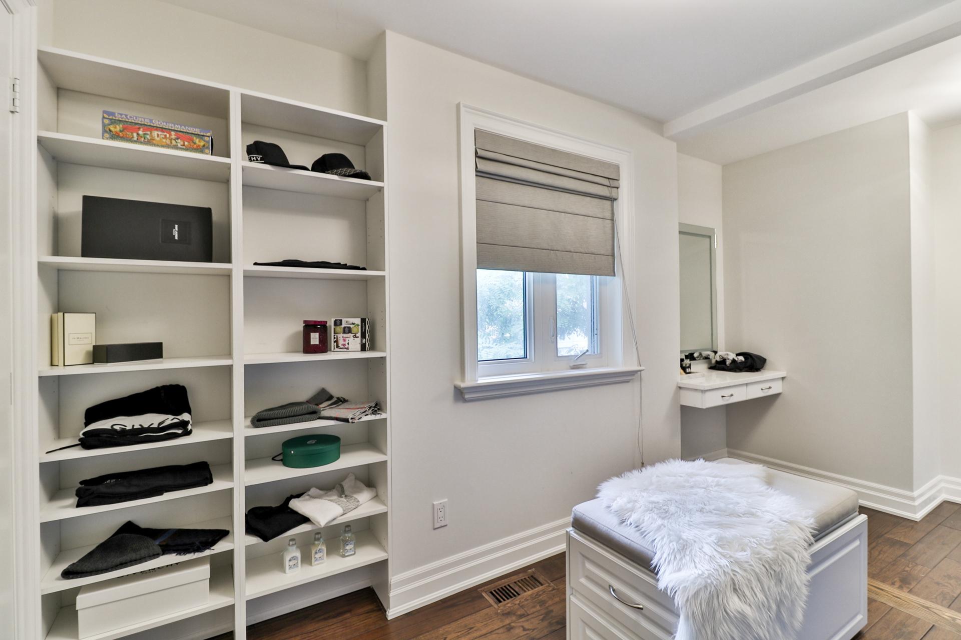 Master Bedroom Closet, 149 Shaver, Etobicoke Home Staging