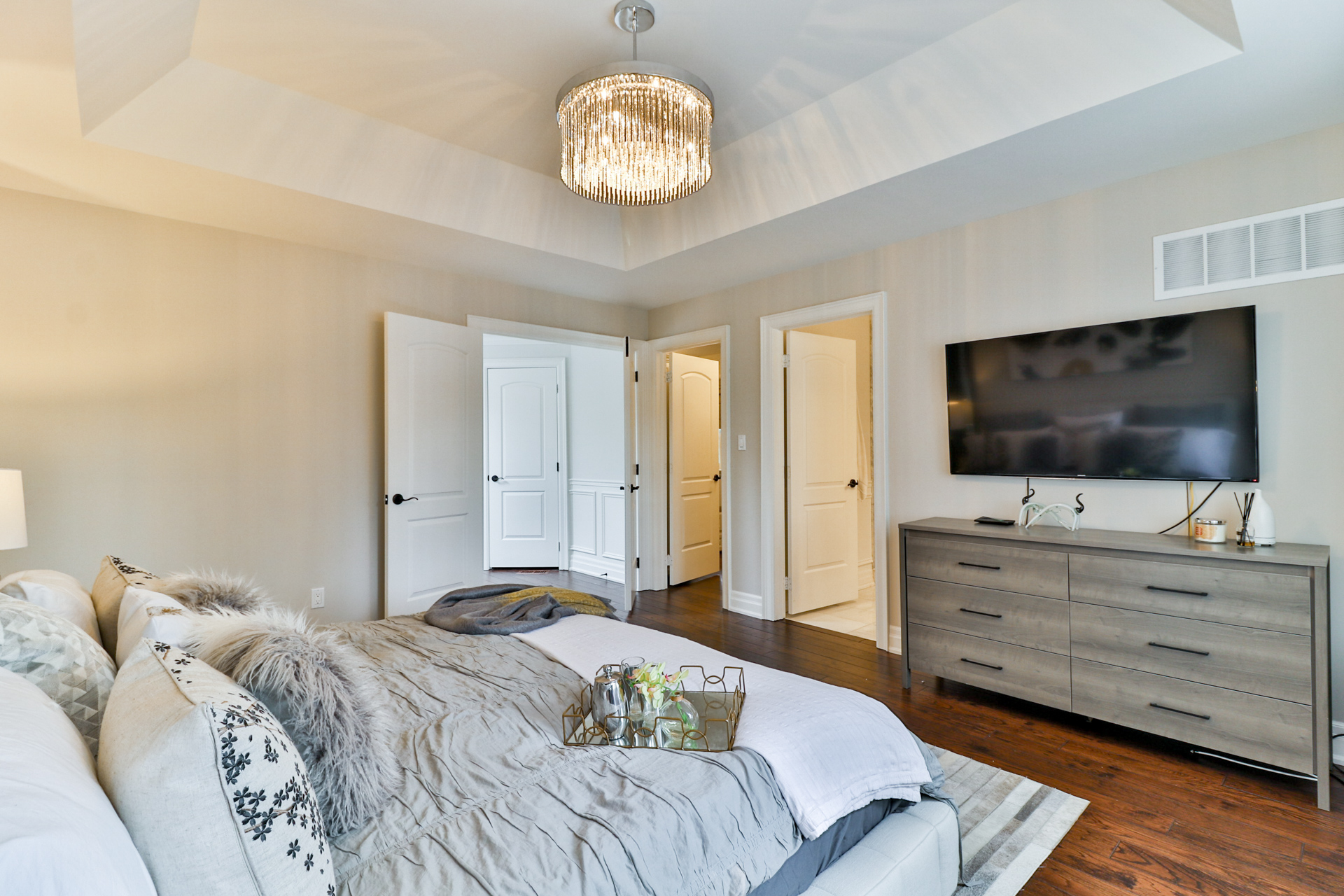 Master Bedroom Sideview, 149 Shaver, Etobicoke Home Staging
