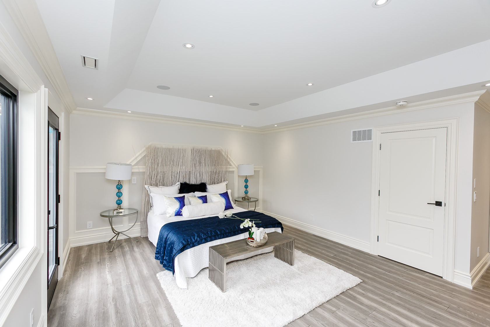 Master Bedroom Walkway, 49 Rossburn, Etobicoke Home Staging