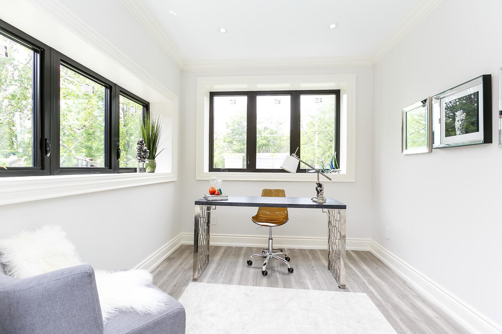Office, 49 Rossburn, Etobicoke Home Staging