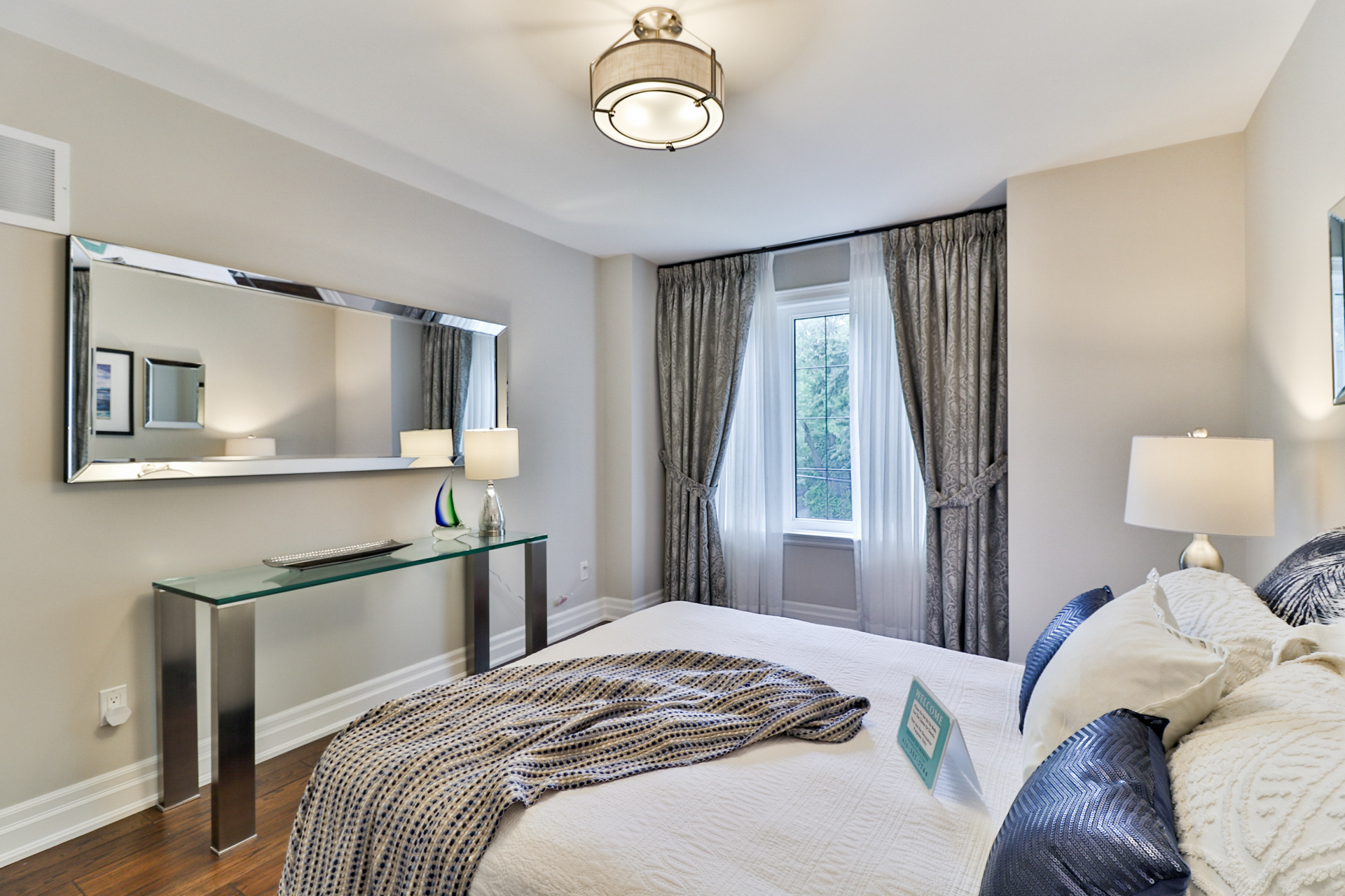 Second Bedroom Sideview, 149 Shaver, Etobicoke Home Staging