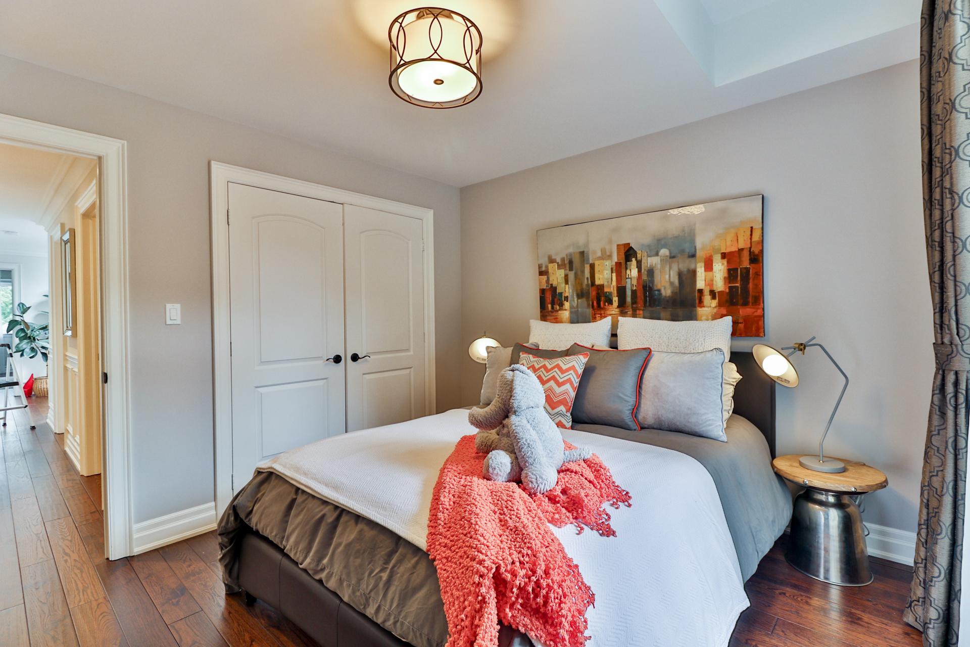 Third Bedroom, 149 Shaver, Etobicoke Home Staging
