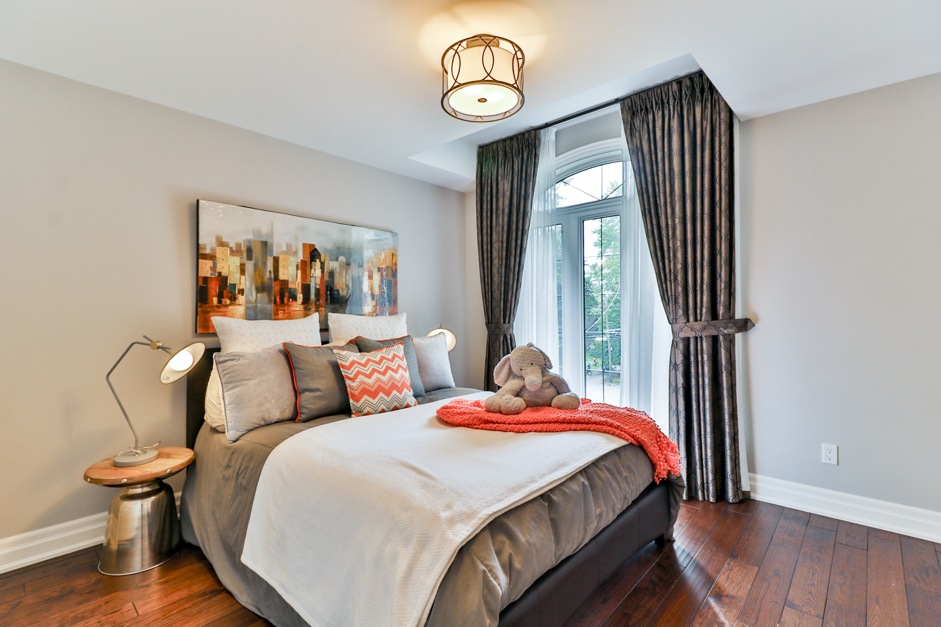 Third Bedroom Angle View, 149 Shaver, Etobicoke Home Staging