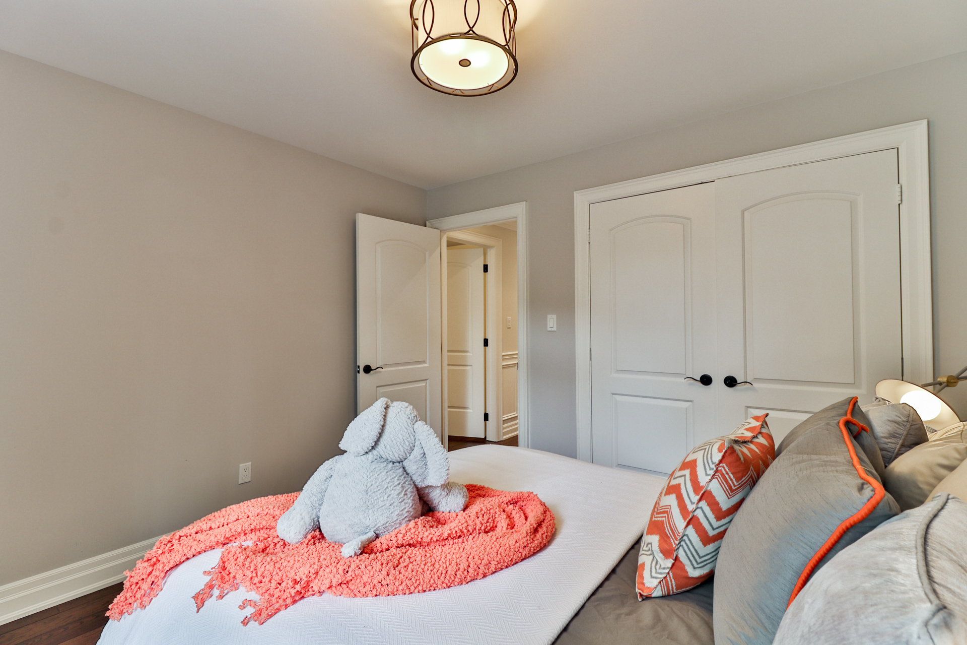 Third Bedroom Entryway, 149 Shaver, Etobicoke Home Staging