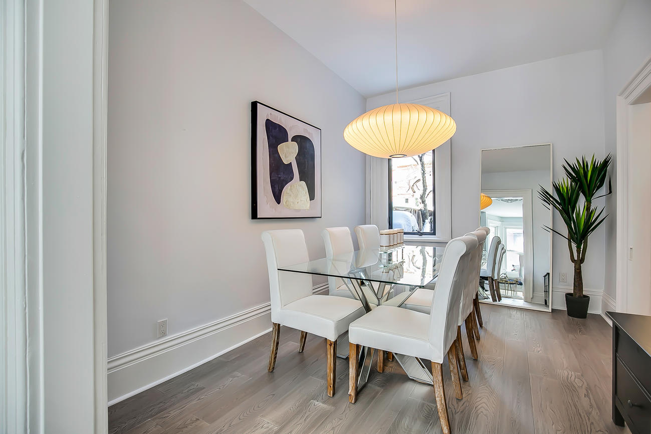 Dining Room, 90 Bleecker, Toronto Home Staging