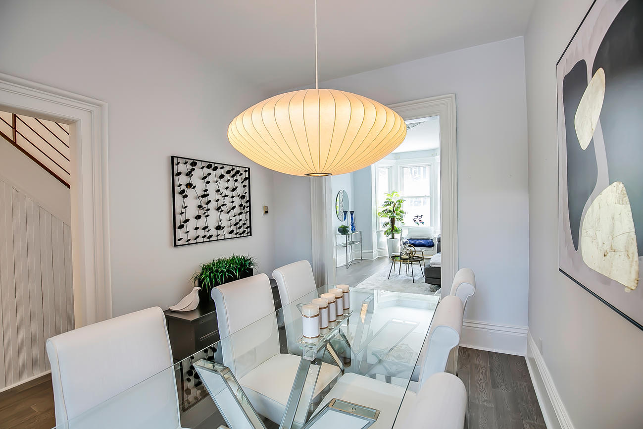 Dining Room Walkway, 90 Bleecker, Toronto Home Staging
