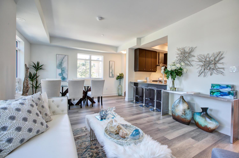 Living Area, 52 Holmes, Toronto Condo Staging