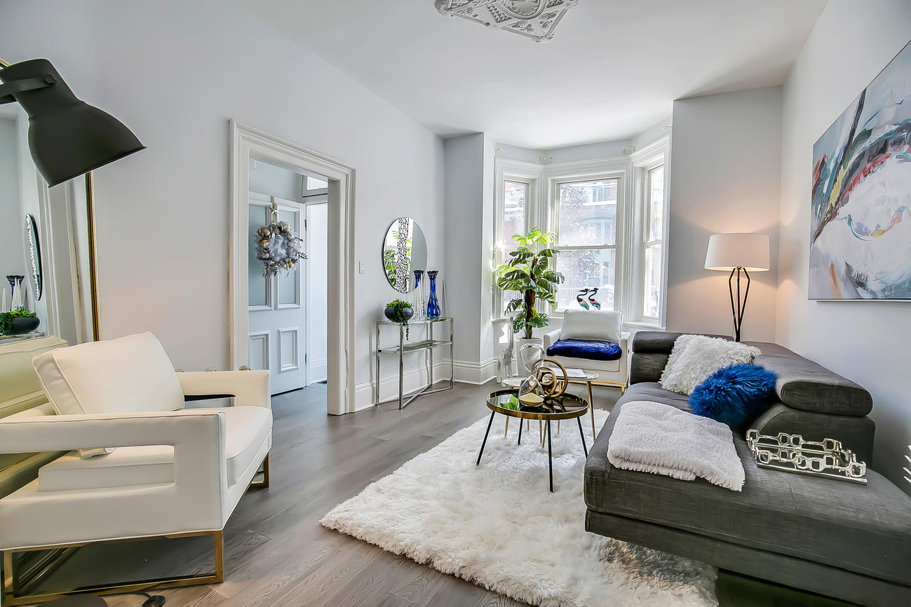 Main Area, 90 Bleecker, Toronto Home Staging