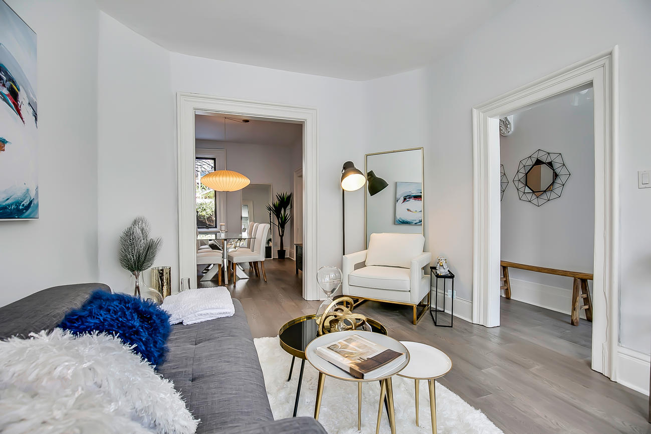 Main Area Entrances, 90 Bleecker, Toronto Home Staging