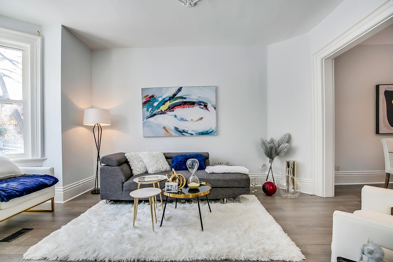 Main Area Seating, 90 Bleecker, Toronto Home Staging