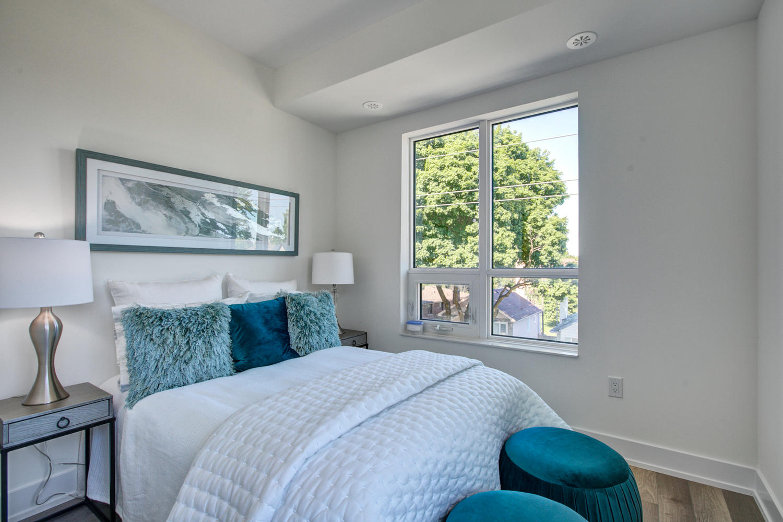 Master Bedroom, 52 Holmes, Toronto Condo Staging
