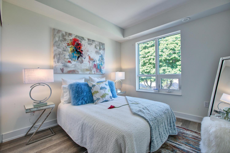 Second Bedroom, 52 Holmes, Toronto Condo Staging